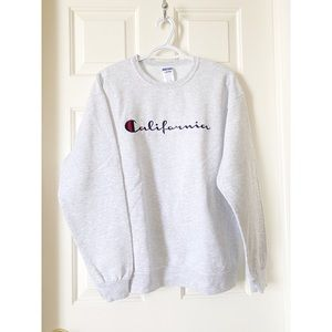 NWOT Champion California Crewneck Sweater